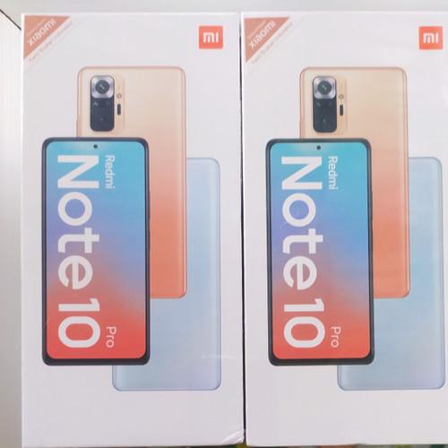 Foto Produk Redmi Note 10 Pro 6/128 6/128GB Garansi Resmi Xiaomi Baru Dan Segel dari Toko Dzaki Syariah