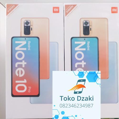 Foto Produk Redmi Note 10 Pro 6/128 6/128Gb Garansi Resmi Xiaomi Baru Dan Segel dari Toko Syariah Dzaki