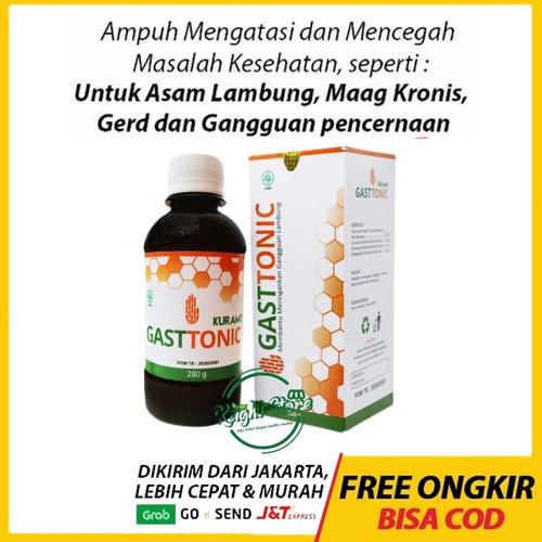 Foto Produk Kuramo Gasttonic Madu Khusus Maag Asam Lambung Gerd Kronis Herbal dari Keight Store