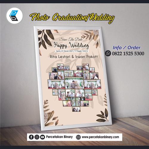 Foto Produk Foto Wedding + Frame 10 R dari Percetakan Binary