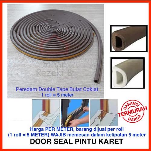Foto Produk Peredam Pintu Door Seal Penutup Celah Jendela Karet Kedap Suara Mohair - Cokelat dari Sinar Rezeki 8