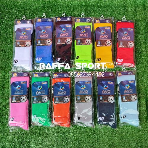 Foto Produk Kaos Kaki Sepak Bola Futsal AVO (panjang di atas lutut) dari Raffa-Sport