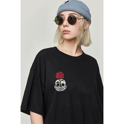 Foto Produk Kaos Rose flower   Tshirt custom kornit beeze series DTG dari Raster Graphic Print