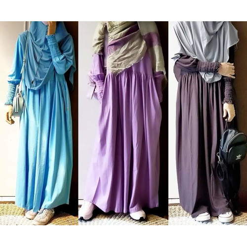 Foto Produk Gamis Remaja/Dewasa Mamanda Verro/Lavender/Brownie by Mamanda dari kedai berkah