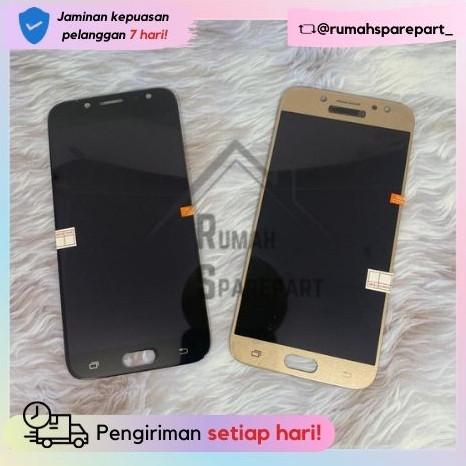 Foto Produk LCD Samsung J7 Pro/ J730 OLED2/Incell Black Gold - Hitam dari RumahSparepart_
