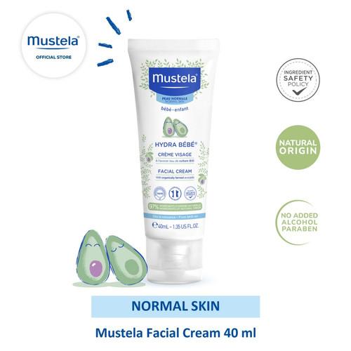 Foto Produk Mustela Hydrabebe Facial Cream 40 ml dari Mustela Indonesia