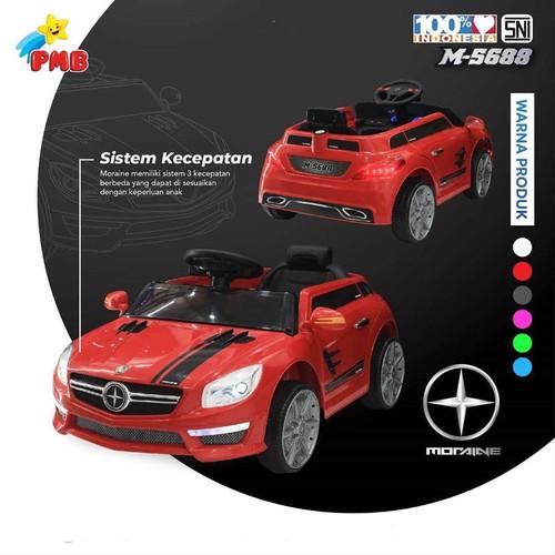 Foto Produk Mobil Aki Mainan Anak PMB 5688 Moraine Remot Murah - Merah dari TokoMainanAnakOnline