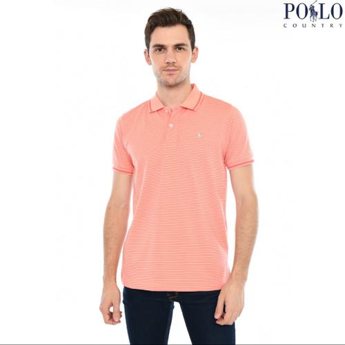 Foto Produk Polo Country - Polo Shirt - Salur 8151 - Hijau, M dari Polo Country Indonesia