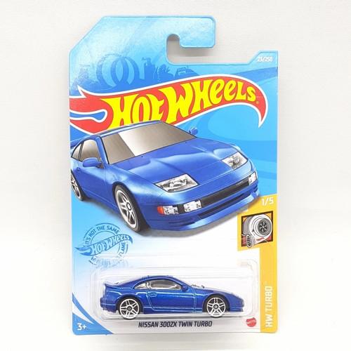 Foto Produk Hotwheels Hotwheels Nissan 300ZX Twin Turbo Biru Original Mattel dari Hanstoy House