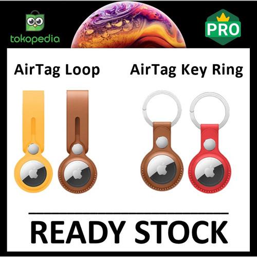Foto Produk AirTag Apple Silicone Case Holder Premium Gantungan AirTags Anti Lost - Holder Loop dari Big Berry Cellular