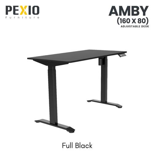 Foto Produk Ergonomic Desk | Automatic Adjustable Desk PEXIO | Amby 160 * 80 - Hitam dari PEXIO
