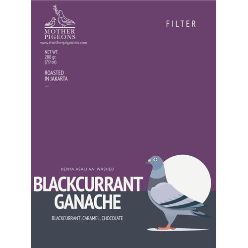 Foto Produk Black Currant Ganache (Kenya AA Top Asali) dari Motherpigeons Roaster