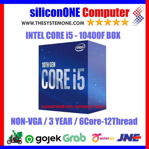 Foto Produk Intel Processor Core i5-10400F BOX dari silicon ONE Computer