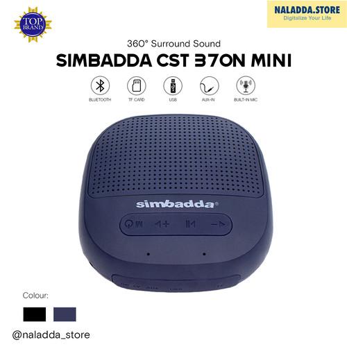 Foto Produk SIMBADDA CST 370N MINI - Speaker Super Bass Bluetooth Portable - Biru dari naladda_store