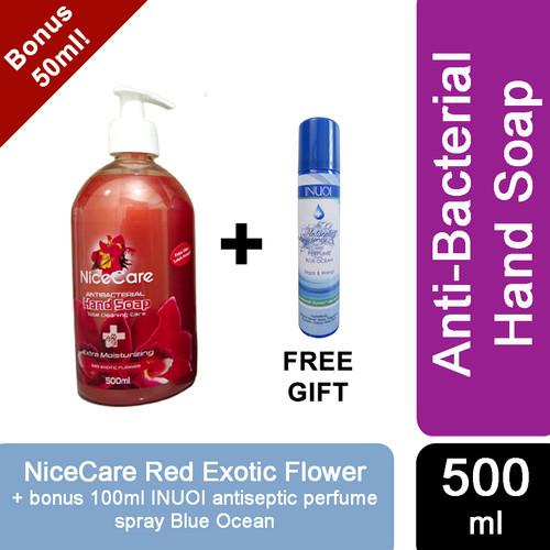 Foto Produk NICE CARE HAND SOAP 500ML / 5 Liter *PRODUK TERBARU* - RedFlower 500ML dari Sisedapepade