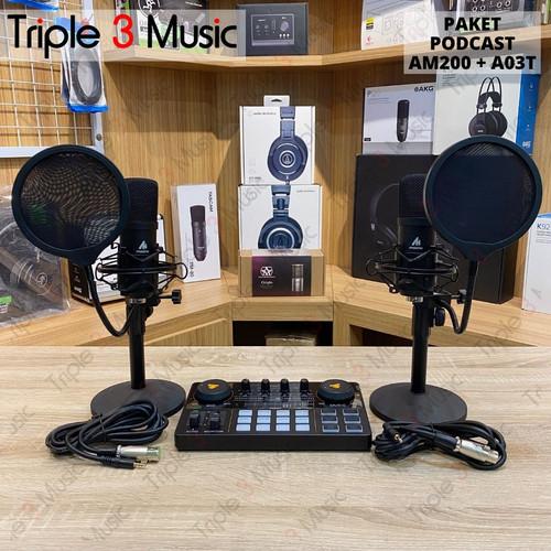 Foto Produk Maono am200 Paket podcast 2 orang with Maono A03T Bundle dari triple3music
