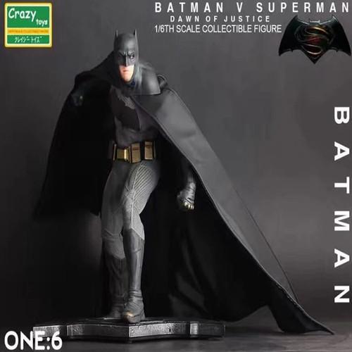 Foto Produk crazy toys Batman V Superman Action Figure 1/6Th Scale Collectible dari CABE CABEAN5