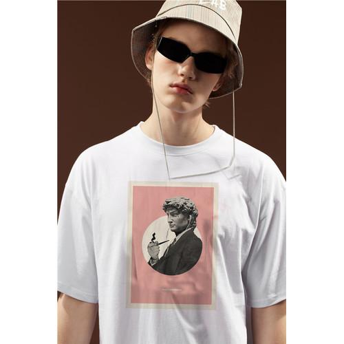 Foto Produk Kaos Graphic Aesthetic ver.4|Tshirt custom |kornit beeze series |DTG dari Raster Graphic Print