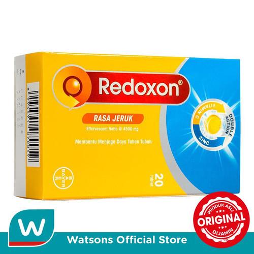Foto Produk Redoxon Zinc Eff 20's (TUB) dari Watsons Indonesia