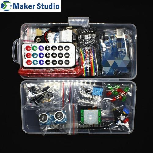 Foto Produk Arduino uno r3 advance kit komplit free ebook software coding dari Toko Raspberry