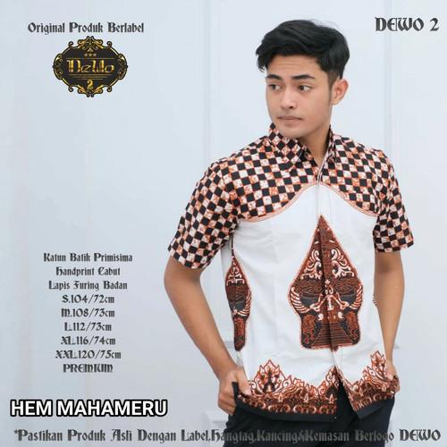 Foto Produk kemeja dakara batik slimfit premiun dari Jivan Batik
