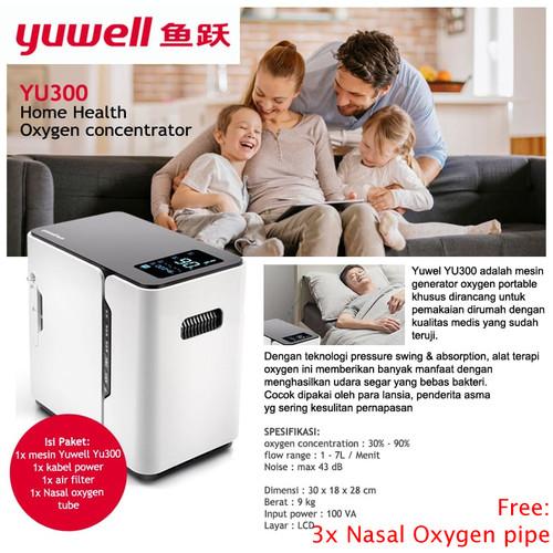 Foto Produk yuwell yu 300 - Oxigen concentrator - yu300 oksigen konsentrator dari ATE Store