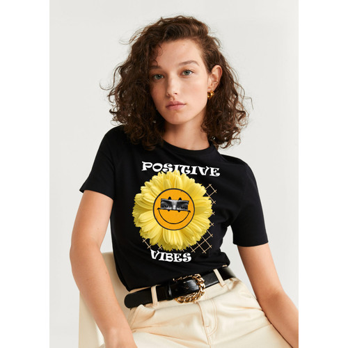 Foto Produk Kaos Flower graphic |Tshirt custom|kornit beeze series |DTGDTF dari Raster Graphic Print