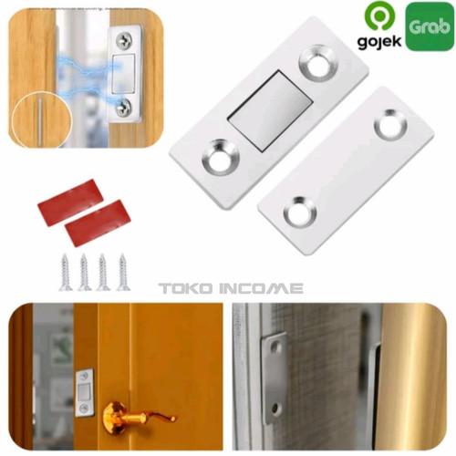 Foto Produk Magnet Plat Kuat Penutup Pintu / Magnetic Door Closer Catches Strong dari Toko Income