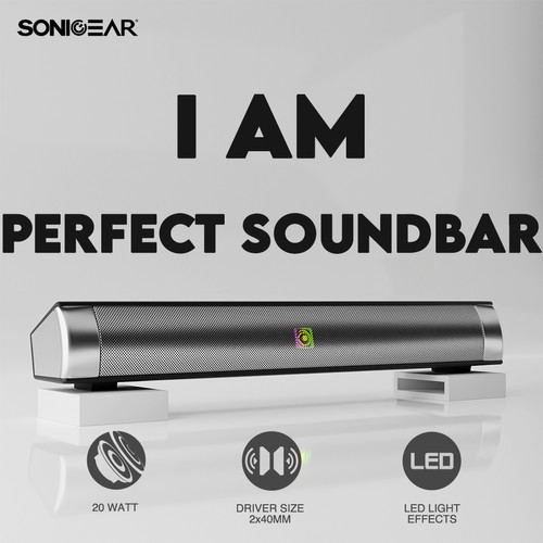Foto Produk Audiobox Sonicbar 150P soundbar Multimedia Passive Speaker System - No Bluetooth dari Armaggeddon Official