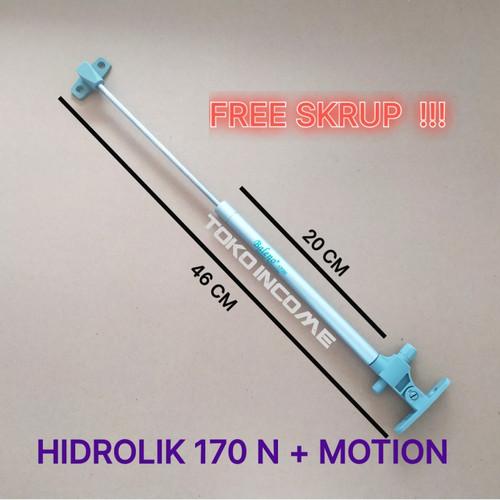 Foto Produk Hidrolik Baleno 170 N - 40 cm / Gaspring Pintu Atas 17 kg / 170N dari Toko Income