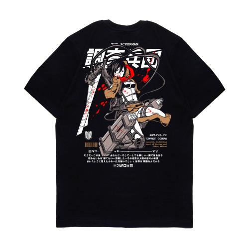 Foto Produk KIZARU Kaos Anime SNK MIKASA ACKERMAN - XL dari KIZARU WORLD
