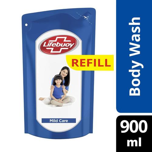 Foto Produk Body wash sabun cair Lifebuoy 900ml - Biru dari noershop81