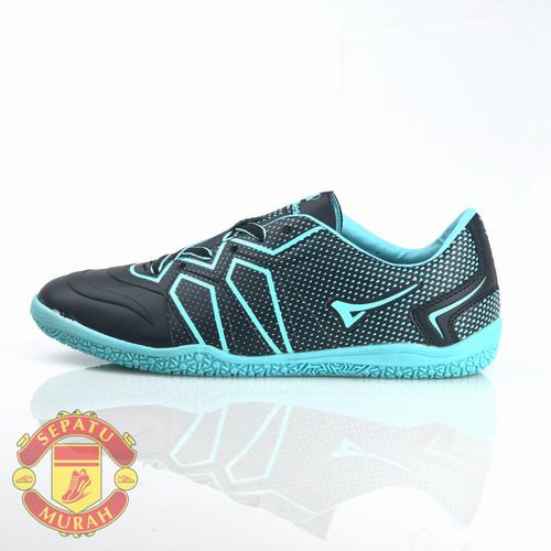 Foto Produk Sepatu Futsal Ardiles Freud - Hitam/Hijau Tosca - 38 dari tokocuanake