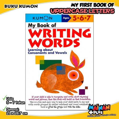 Foto Produk BUKU ANAK KUMON MY BOOK OF WRITING WORDS 5 6 7 dari MainanPlus