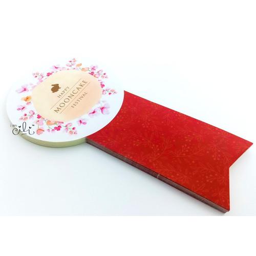 Foto Produk (SMOONCAKE04) stiker mooncake mid autumn kue bulan lucu (uk 8x15cm) dari i am CiLi