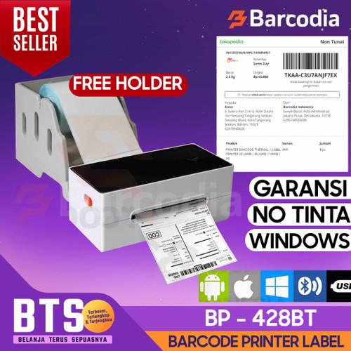 Foto Produk PRINTER LABEL BARCODE STICKER BP-428U DIRECT THERMAL 108mm / A6 (USB) dari Barcodia Indonesia