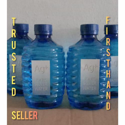 Foto Produk 12 Botol(1Dus) Ionic Silver Water Ag+ Anti Virus 500ml ORI dari Ionic Silver Water Factory