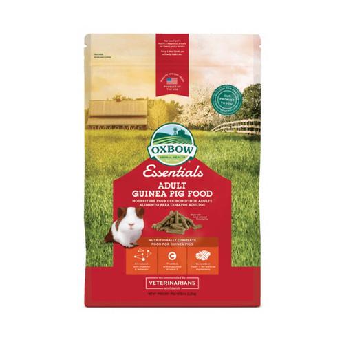 Foto Produk Oxbow Essentials Adult Guinea Pig Food 10lbs Pellet Marmut Timothy Hay - EXP 2023-02 dari Hime petshop