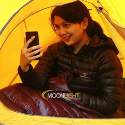 Foto Produk Sleeping Bag Bulu Angsa Begonia Dudinka Goose down FP 850 dari Moonlight Outdoor