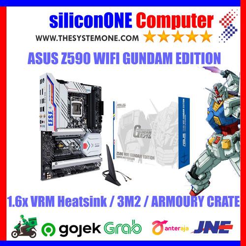 Foto Produk ASUS Z590 WIFI GUNDAM EDITION dari silicon ONE Computer