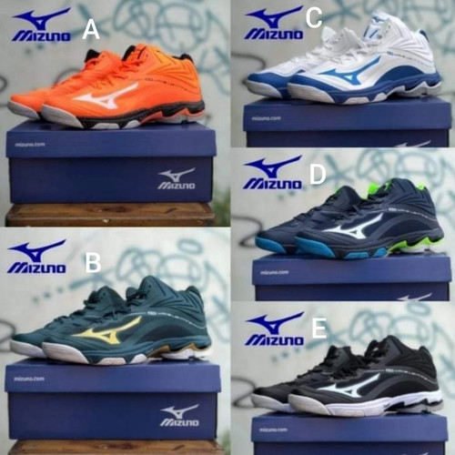 Foto Produk sepatu basket mizuno sepatu volly badminton original size 39-46 dari mujiolshop_88