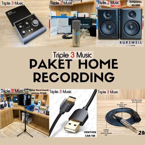 Foto Produk Audient id4 MK II Paket home recording premium dari triple3music