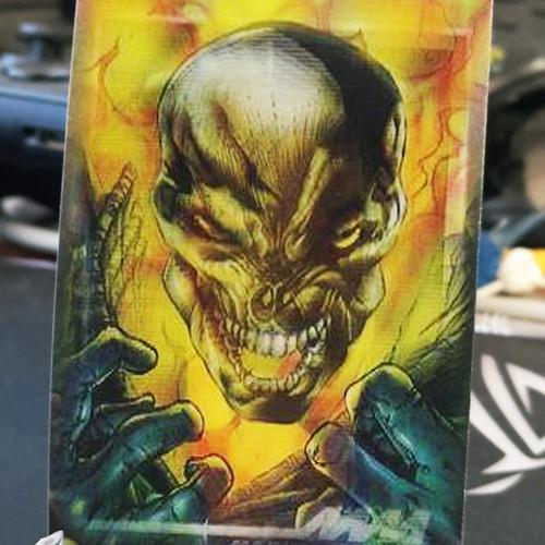 Foto Produk Ghost Rider Marvel Motion Trading Card kartu pesanan dari Charu Toys