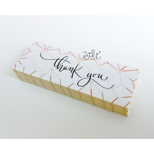 Foto Produk (SN027) Stiker MINI Thank You GOLD dari i am CiLi