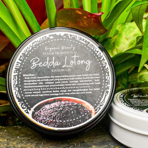 Foto Produk lulur bedda lotong / bedda lotong asli / bedda lotong / lulur viral - basah, 100 gram dari serastore_id