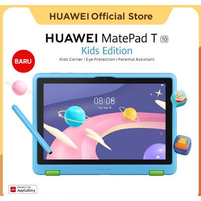 Foto Produk Huawei MatePad T10 Kids Edition 2/32GB - Deepsea Blue dari Huawei Official Store