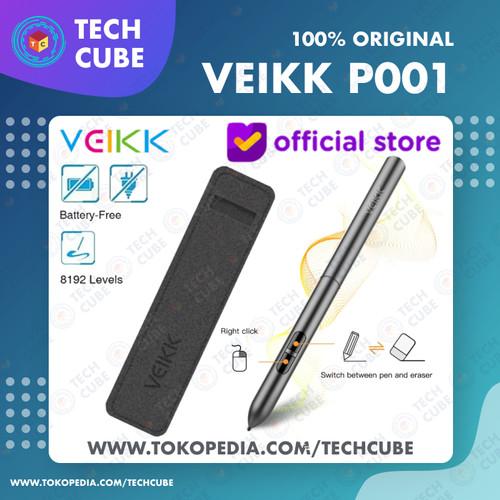 Foto Produk VEIKK P001 Digital Drawing Pen Stylus for VEIKK S640 VEIKK A30 dari Tech Cube