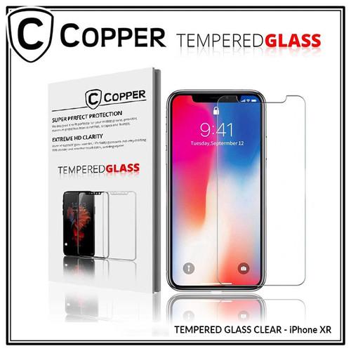 Foto Produk iPhone Xr - COPPER TEMPERED GLASS FULL CLEAR dari Copper Indonesia