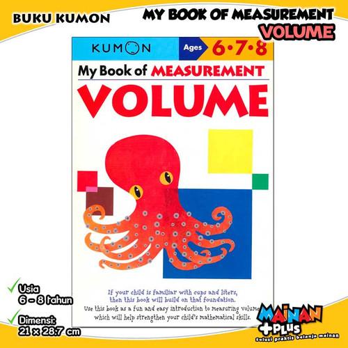Foto Produk BUKU ANAK KUMON MY BOOK OF MEASUREMENT VOLUME 6 7 8 dari MainanPlus