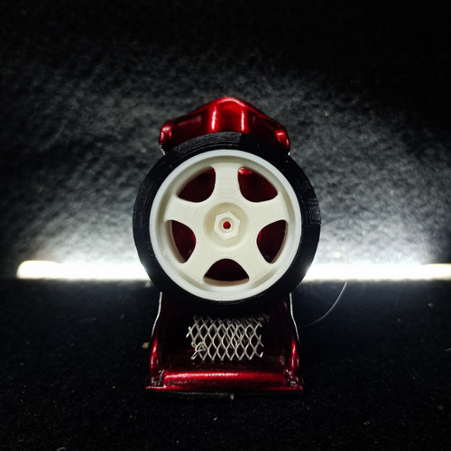 Foto Produk Velg Ban Drift WPL D12 PNP HEX - 5 Spoke, lebar 19mm dari FroZeToKhai